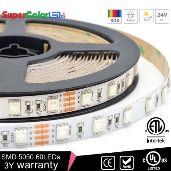 Rgb Led Strip Lights 24v Tape