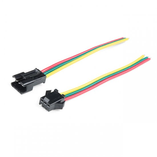 LED Strip Pigtail Connector (3-pin)|JST-SMx3P|Installation ... on pigtail socket, pigtail harness, pigtail fuses,