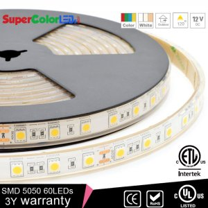 Single color led strip lights supercolorleds waterproof led light strips 12v outdoor led tape light with 18 smdsft 3 aloadofball Image collections